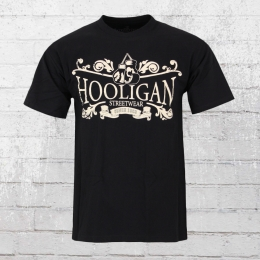 Hooligan Herren T-Shirt Champ schwarz