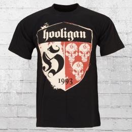 Hooligan Streetwear Männer T-Shirt Shelter schwarz