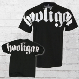 Hooligan T-Shirt Männer Hooligan Fat schwarz L