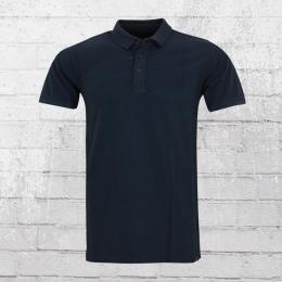 Indicode Herren Polo Shirt Abbotsford blau