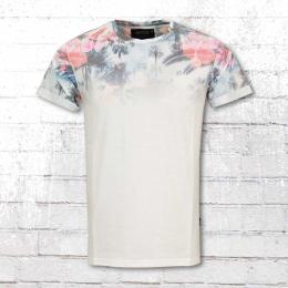 Indicode Herren T-Shirt Palencia weiss
