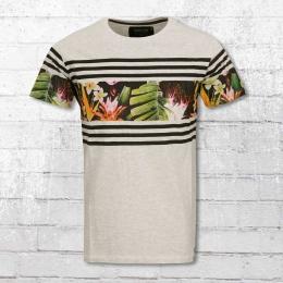 Indicode Herren T-Shirt Vitoria Gasteiz grau