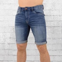 Indicode Jeans Short Kurze Männer Hose Kaden blau