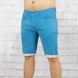 Indicode Jeans Short Männer Lleida blau