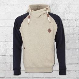Indicode Männer Kapuzen Sweater Marybank grau