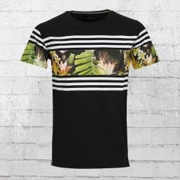 Indicode Männer T-Shirt Vitoria Gasteiz schwarz