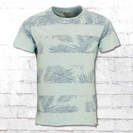 Indicode T-Shirt Allen hellblau türkis