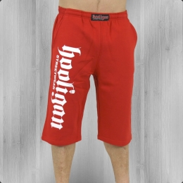 Hooligan kurze Jogginghose Herren Short Jam Big red
