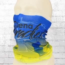 Jena Paradies Tube Schlauchschal blau gelb weiss