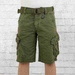 Jet Lag Cargo Shorts Herren Take Off 3 oliv