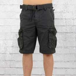 Jet Lag Herren Cargo Short Take Off 8 vintage anthrazit