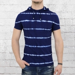 Jetlag Herren Hoody T-Shirt SO16-66 blau