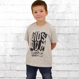 Kidsrun Kinder T-Shirt Sonder Edition 2017 grau melange