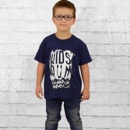 Kidsrun Sonder Edition 2017 Kinder T-Shirt blau