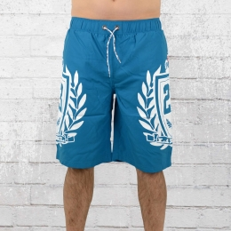 Label 23 Bade Short Logo 23 Badehose blau