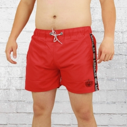 Label 23 Badehose Patch 23 rot
