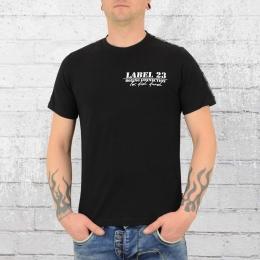 Label 23 BC Classic 2019 Herren T-Shirt schwarz