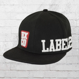 Label 23 BXCO Snap Back Cap schwarz