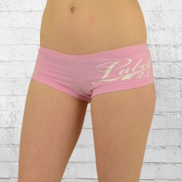 Label 23 Damen Hot Pants Frauen Panty Slip rosa