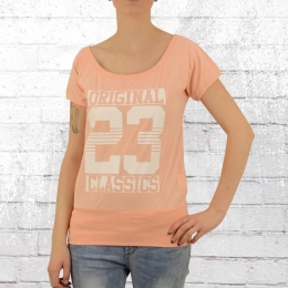 Label 23 Damen T-Shirt Original Classic orange melange