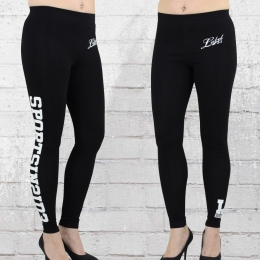 Label 23 Frauen Leggings Sport Inside schwarz