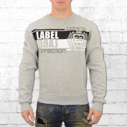 Label 23 Herren Pullover Doorbreaker grau