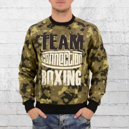 Label 23 Herren Sweater Team Boxing camouflage