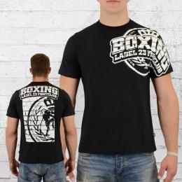 Label 23 Herren T-Shirt Fightclub schwarz
