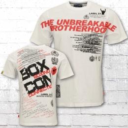 Label 23 Herren T-Shirt Promo weiss