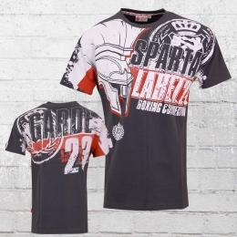 Label 23 Herren T-Shirt Sparta grau