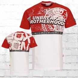 Label 23 Herren T-Shirt Unbreakable rot