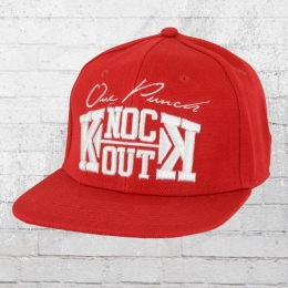 Label 23 Knock Out Snapback Cap rot