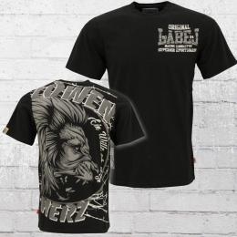 Label 23 Männer T-Shirt Löwenherz schwarz