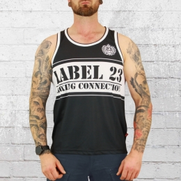 Label 23 Mesh Tank Top BC Classic schwarz