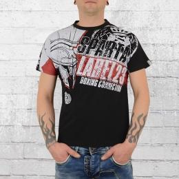 Label 23 Sparta 2019 Männer T-Shirt schwarz