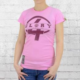 Label 23 T-Shirt Frauen Glory pink L