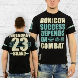 Label 23 T-Shirt Männer Legendary schwarz