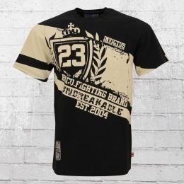 Label 23 T-Shirt Männer MMA Support schwarz