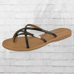 Les Tropeziennes Frauen Sandale Bip Schlappen schwarz
