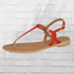 Les Tropeziennes Womens Thong Sandals Billy red