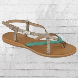 Les Tropeziennes Zehentrenner Sandalette Damen Bonbon türkis