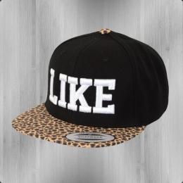 C Like Zebra Flexfit Snapback Cap Like Leopard black