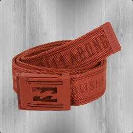 Billabong Stoff Gürtel Logistic Webbing Belt blood