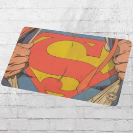 Logoshirt 4er Pack Frühstücksbrett DC Comics Superman Man of Steel bunt