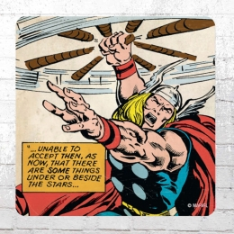 Logoshirt 6x Comic  Untersetzer Coaster Marvel Thor Under Or Beside