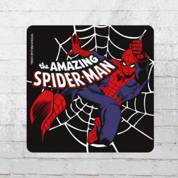 Logoshirt Coaster Marvel 6er Pack Spiderman Untersetzer bunt