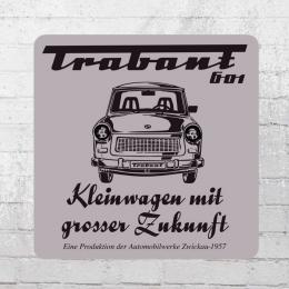 Logoshirt Coaster Trabant 601 Untersetzer grau