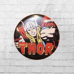 Logoshirt Comic Anstecker Thor Marvel Button