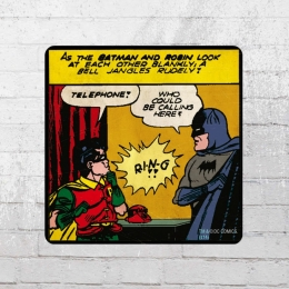 Logoshirt Comic Batman And Robin Telephone Untersetzer Coaster