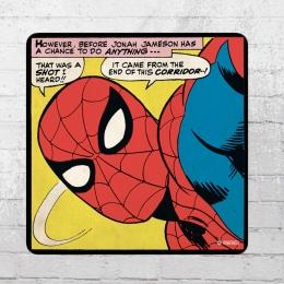 Logoshirt Comic Coaster Marvel Spider-Man That Was Untersetzer bunt